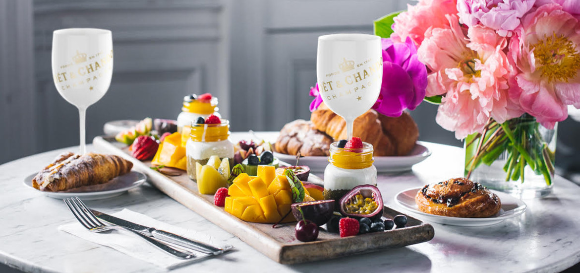 The Moet & Chandon Imperial Ice brunch