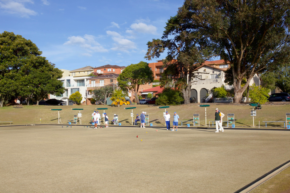 Bistro on the Greens Lawn bowls
