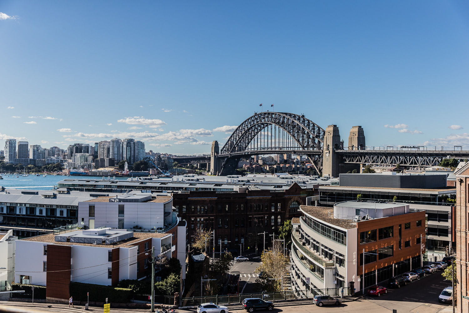 Hotel Palisade_sydney harbour bridge view