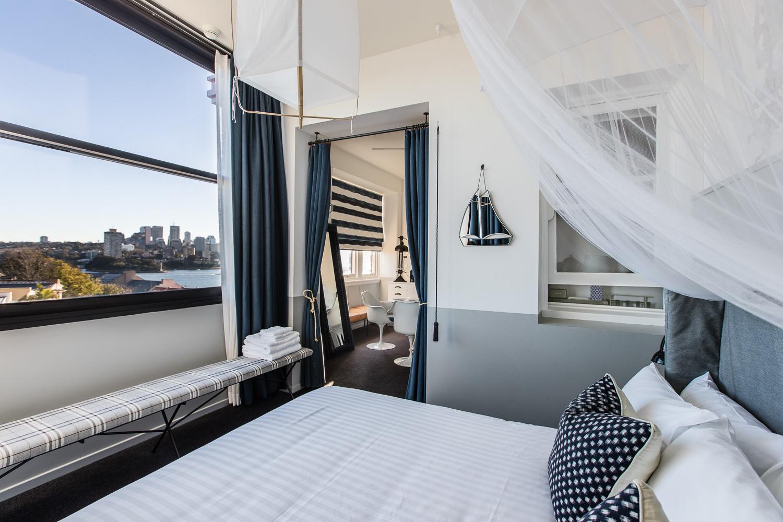 Hotel Palisade Sydney room