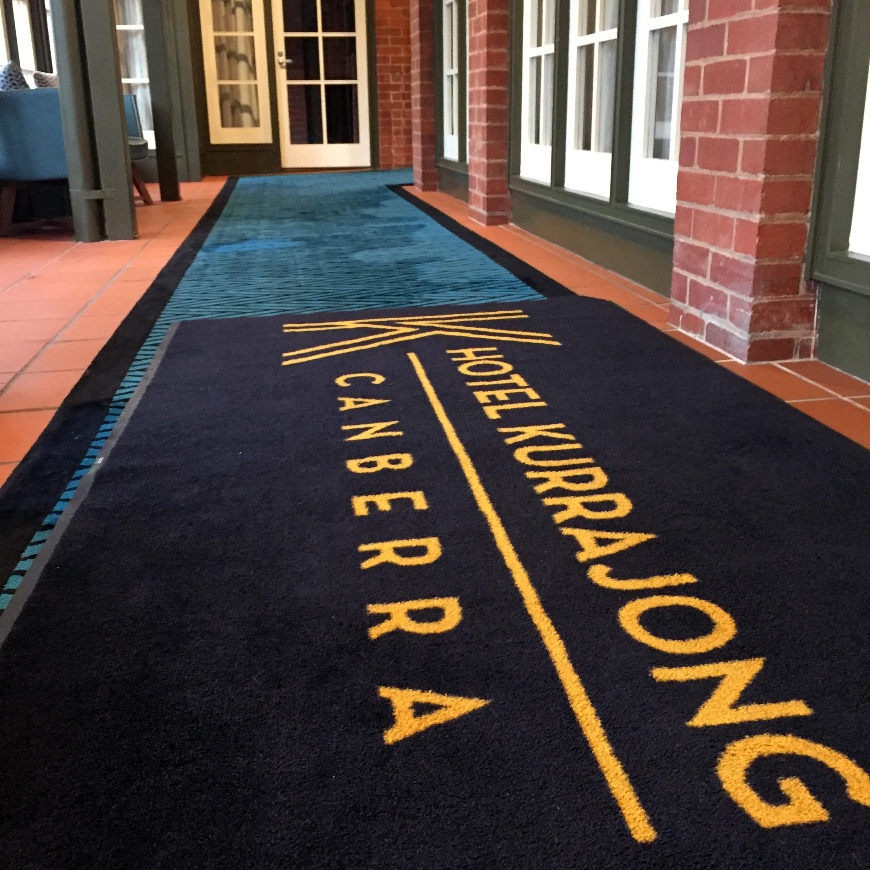 Hotel Kurrajong hallway