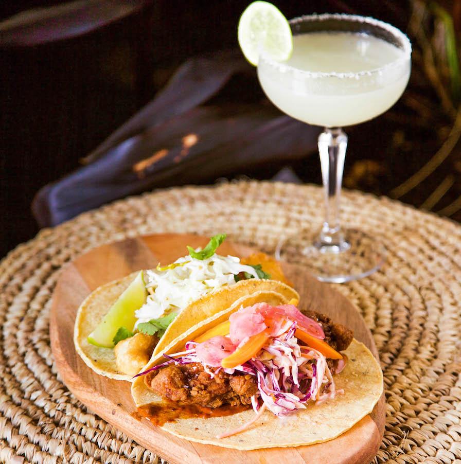 Carbon Mexican tacos