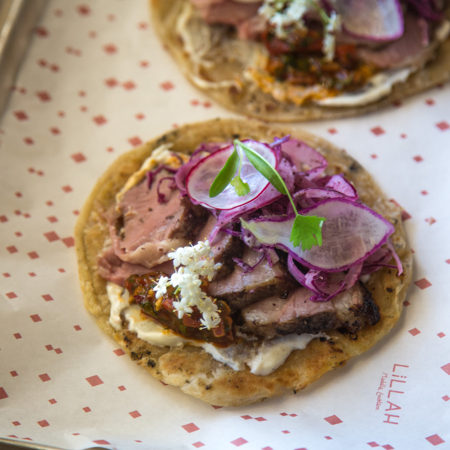 Behold, the Middle Eastern Taco