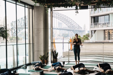 Yoga in Sydney like you've never seen it before