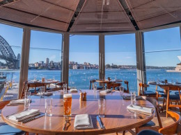 The Squire's Landing is Sydney's newest Harbour hotspot