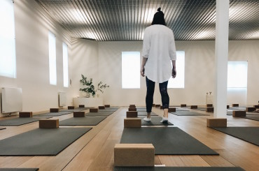 Fitzroy's newest yoga studio is nirvana.