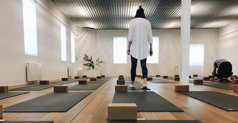 Fitzroy's newest yoga studio is nirvana.