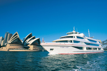 A gold star for a Captain Cook Cruises Gold Lunch