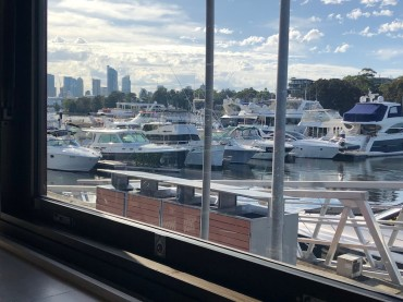 The Galley at Sydney Boathouse brings boat life to shore