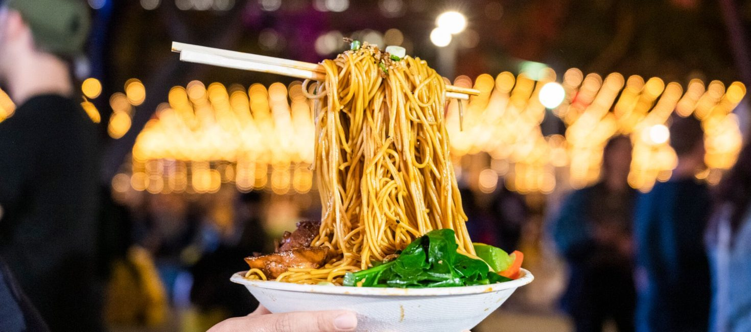 Say Goodbye – Good Food Month Night Noodle Markets last hurrah!