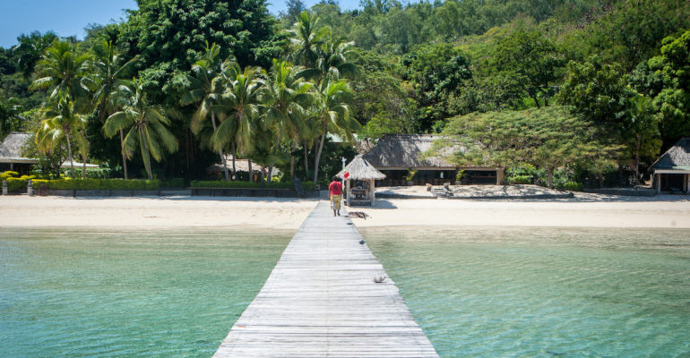 Fiji's perfect private island