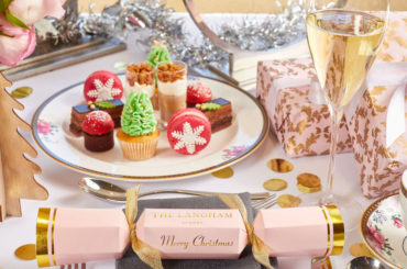 Christmas Afternoon Tea at The Langham – we'll be there with bells on!