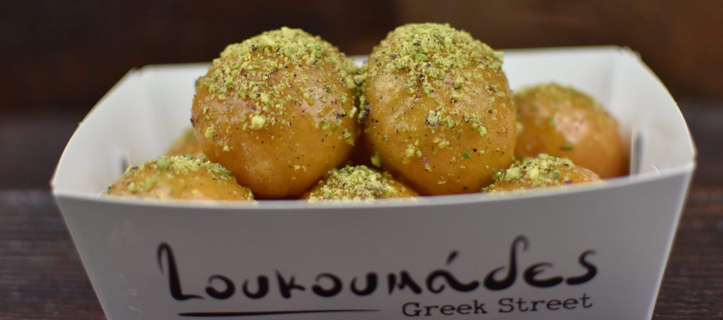 Run, donut walk. Loukoumades Greek Street is the dessert delight fit for the gods.