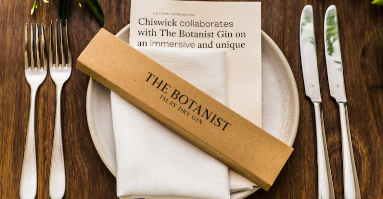 Let the fun be gin! The Botanist gin @ Chiswick