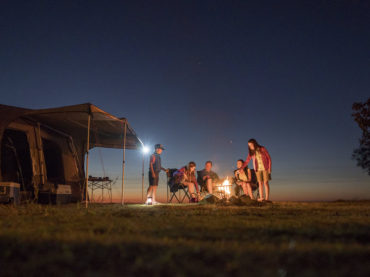 How to get a great night's sleep when camping