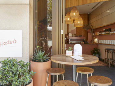 Hester's brings cafe society to the CBD