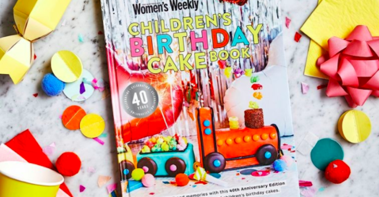 This takes the cake. The cult Women's Weekly birthday cake cookbook turns 40!