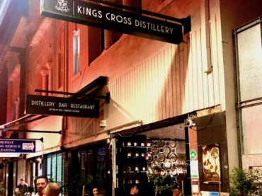 Kings Cross Distillery lights up the golden mile