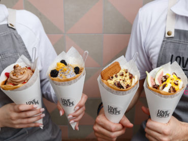 Like Dessert? You'll Love  'Love Crêpe'