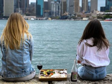 Picnic with The Botanist, Kirribilli