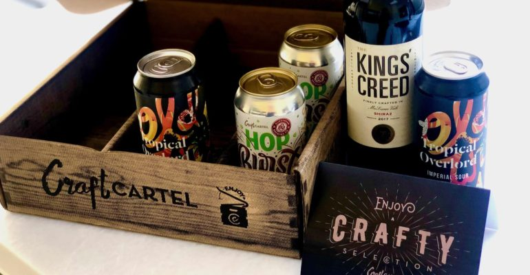 Craft Cartel brings Valentine love in a boozy box